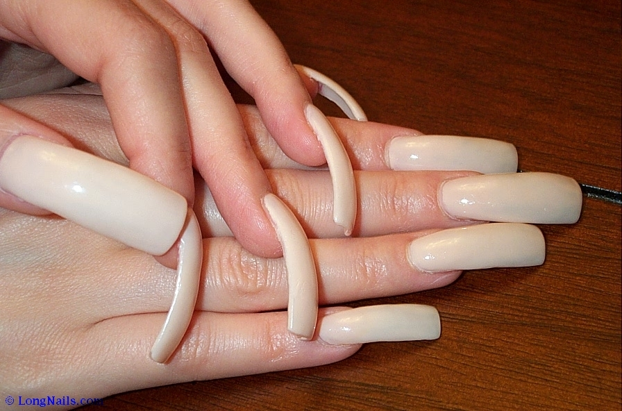 how to get long nails in 1 hour